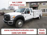 Used 2012 Ford F-550 6.7 4x4 Service Utility Truck