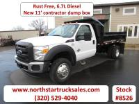 Used 2014 Ford F-550 6.7 Dump Truck