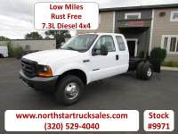 Used 1999 Ford F-350 4x4 7.3 Cab Chassis