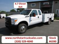 Used 2014 Ford F-350 6.7 4x4 Service Utility Truck