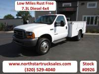 Used 2001 Ford F-550 7.3 4x4 Service Utility Truck