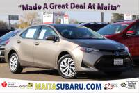 Used 2017 Toyota Corolla LE Available in Sacramento CA