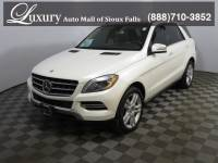 Pre-Owned 2014 Mercedes-Benz M-Class ML 350 4MATIC SUV for Sale in Sioux Falls near Brookings