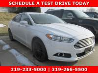 Used 2014 Ford Fusion SE Sedan for Sale in Waterloo IA
