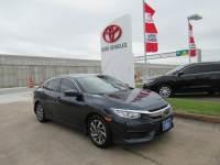 Used 2017 Honda Civic EX Sedan FWD For Sale in Houston
