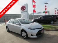 Certified 2018 Toyota Corolla LE Sedan FWD For Sale