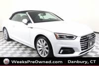 Used 2018 Audi A5 Cabriolet 2.0T Premium Plus Luxury Pkg. Convertible in Danbury, CT