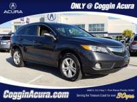 Certified 2015 Acura RDX Base w/Technology Package (A6) SUV in Jacksonville FL