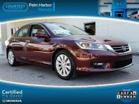 Certified 2015 Honda Accord EX-L Sedan in Jacksonville FL