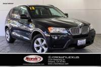 Pre-Owned 2012 BMW X3 28i AWD 4dr SUV