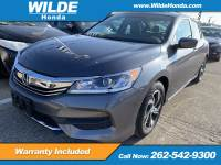 Certified Pre-Owned 2016 Honda Accord LX FWD 4dr Car
