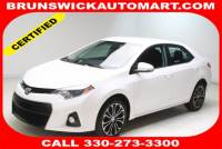 Used 2016 Toyota Corolla S in Brunswick, OH, near Cleveland