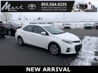 Used 2016 Toyota Corolla S w/Bluetooth, Backup Camera & Power Package Sedan in Plover, WI