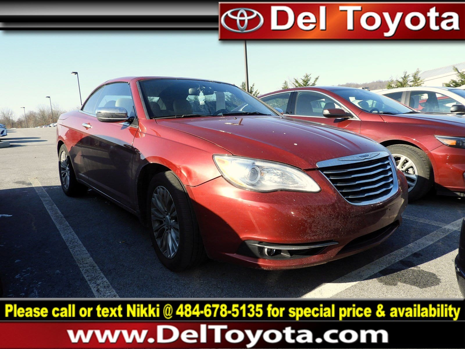 Photo Used 2013 Chrysler 200 Limited For Sale in Thorndale, PA  Near West Chester, Malvern, Coatesville,  Downingtown, PA  VIN 1C3BCBFG8DN539737