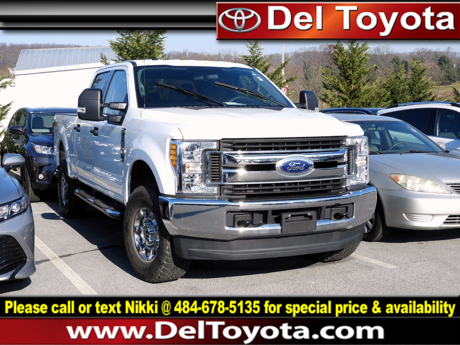 Photo Used 2017 Ford Super Duty F-250 SRW XLT For Sale in Thorndale, PA  Near West Chester, Malvern, Coatesville,  Downingtown, PA  VIN 1FT7W2B64HED52488
