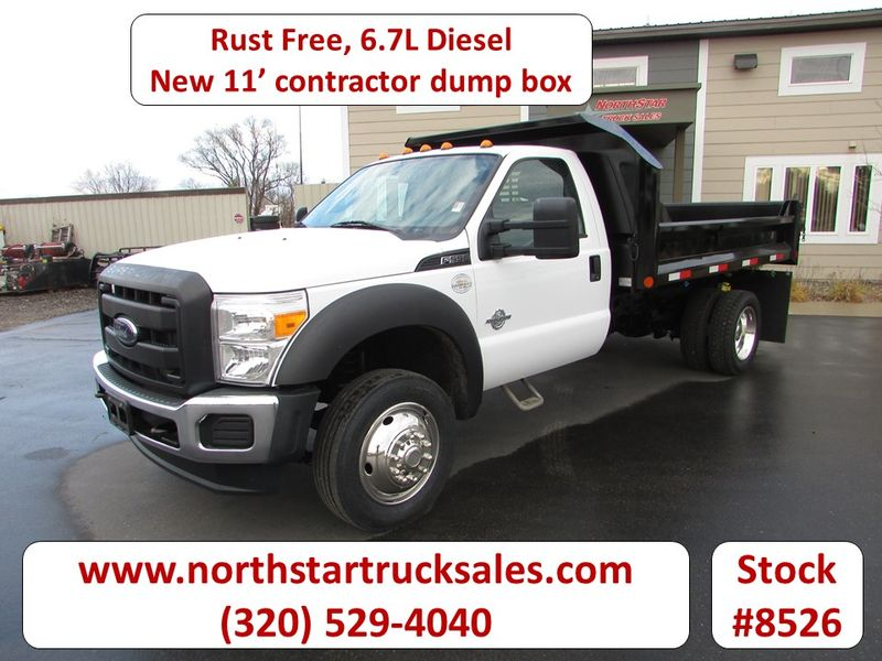 Photo Used 2014 Ford F-550 6.7 Dump Truck