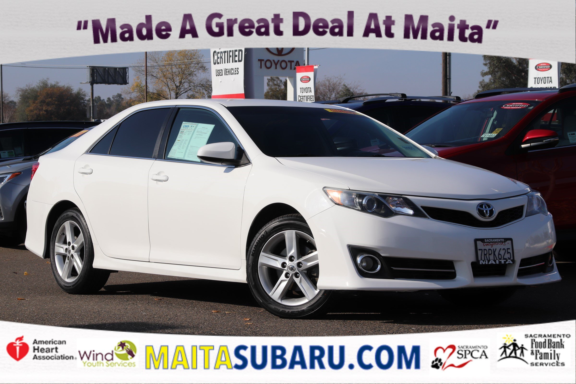 Photo Used 2014 Toyota Camry SE Available in Sacramento CA