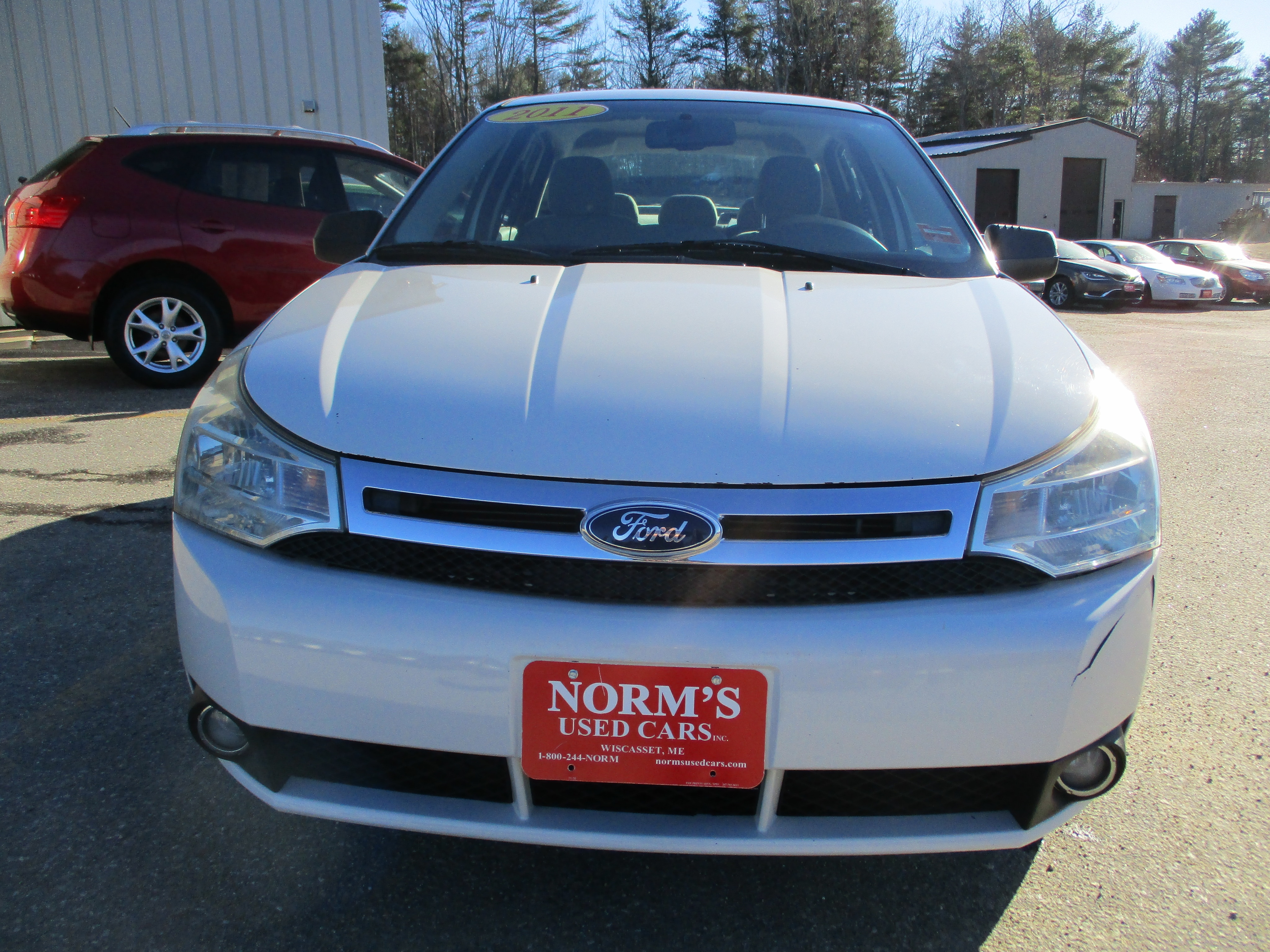 Photo Used 2011 Ford Focus For Sale  Wiscasset ME
