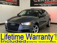2015 Audi A3 S TRONIC NAVIGATION PLUS PKG COLD WEATHER PKG SUNROOF LEATHER HEATED SEATS