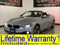 2018 BMW 4 Series HARD TOP CONVERTIBLE NAVIGATION REAR CAMERA PARK ASSIST POWER LEATHER SEATS