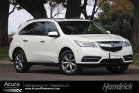 Used 2016 Acura MDX w/Advance in Pleasanton, CA