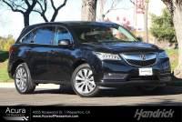 Used 2016 Acura MDX w/Tech in Pleasanton, CA