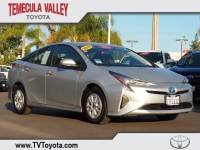 2016 Toyota Prius Two Hatchback Front-wheel Drive