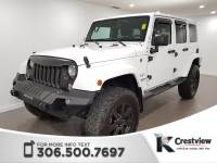 Certified Pre-Owned 2016 Jeep Wrangler Unlimited Sahara | Navigation 4WD Convertible