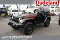 Certified Used 2017 Jeep Wrangler Winter SUV in Miami