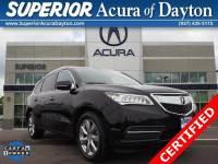 2016 Acura MDX MDX SH-AWD with Advance SUV