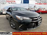 Used 2016 Toyota Camry SE Sedan Front-wheel Drive in Chicago