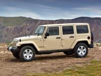 2011 Jeep Wrangler Unlimited Unlimited Sahara SUV 4x4 4-door