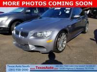 2011 BMW M3 Base Rear-wheel Drive