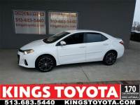 Certified Pre-Owned 2016 Toyota Corolla S Plus Sedan in Cincinnati, OH