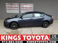 Certified Pre-Owned 2015 Toyota Corolla S Plus Sedan in Cincinnati, OH