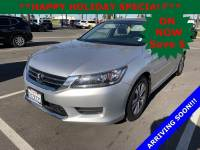 Used 2015 Honda Accord Sedan LX in Oxnard CA