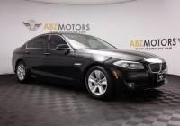 2013 BMW 5 Series 528i Lane Departure,Navigation,Camera,Heated Seats
