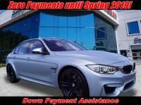 Used 2015 BMW M3 Sedan | Totowa NJ | VIN: WBS3C9C59FP804760