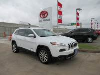 Used 2014 Jeep Cherokee Limited SUV FWD For Sale in Houston