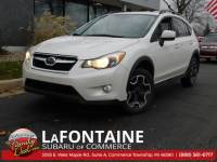 Used 2014 Subaru XV Crosstrek 2.0i Premium SUV For Sale Farmington Hills, MI