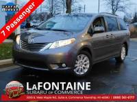 Used 2014 Toyota Sienna Limited Van For Sale Farmington Hills, MI