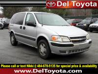 Used 2003 Chevrolet Venture w/1SA Pkg For Sale in Thorndale, PA   Near West Chester, Malvern, Coatesville, & Downingtown, PA   VIN: 1GNDU03E73D195449