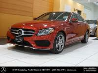Certified Pre-Owned 2016 Mercedes-Benz C-Class C 300 Sport AWD 4MATIC®