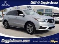 Certified 2017 Acura MDX V6 SH-AWD SUV in Jacksonville FL