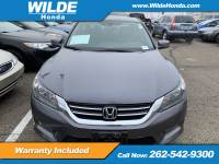 Certified Pre-Owned 2015 Honda Accord EX-L FWD 4dr Car