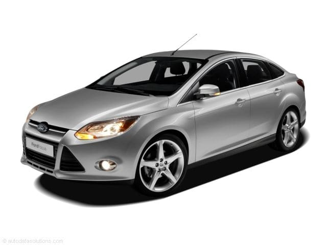 Photo Used 2012 Ford Focus S Sedan in Merced, CA