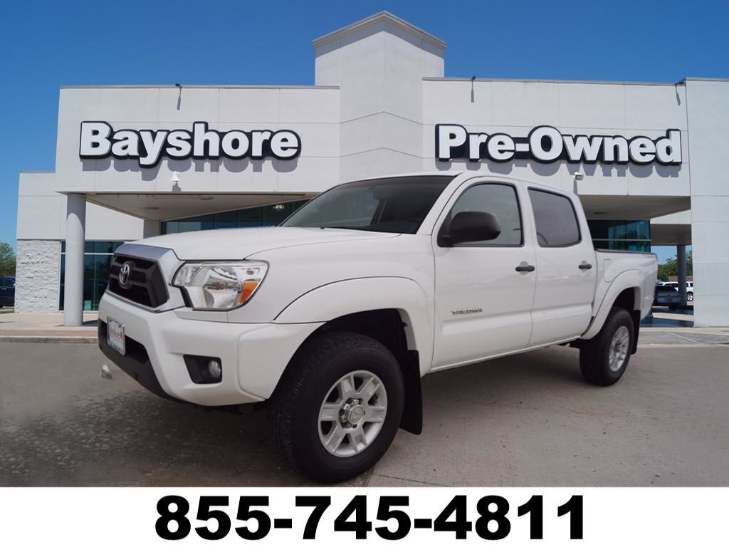 Photo 2013 Toyota Tacoma 2WD PreRunner V6 Automatic Truck Double Cab in Baytown, TX. Please call 832-262-9925 for more information.