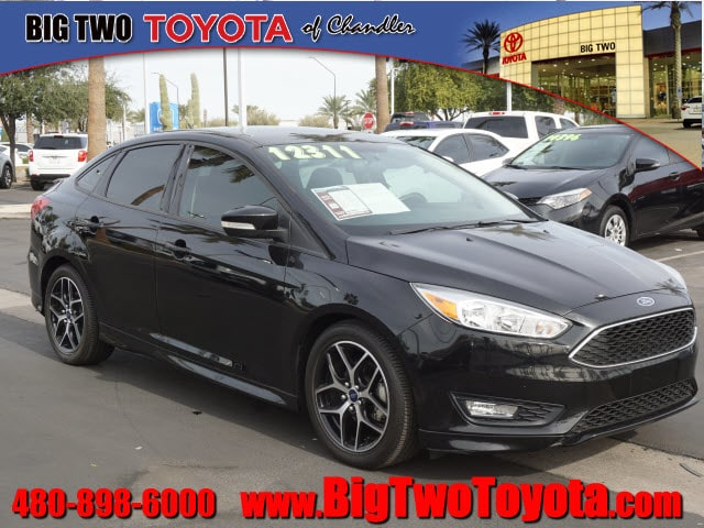 Photo Used 2016 Ford Focus SE SE Sedan in Chandler, Serving the Phoenix Metro Area