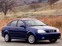 2004 Suzuki Forenza 4dr Sdn S Auto