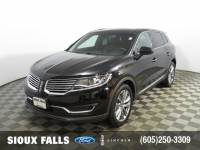 Certified Pre-Owned 2018 Lincoln MKX Reserve SUV for Sale in Sioux Falls near Vermillion